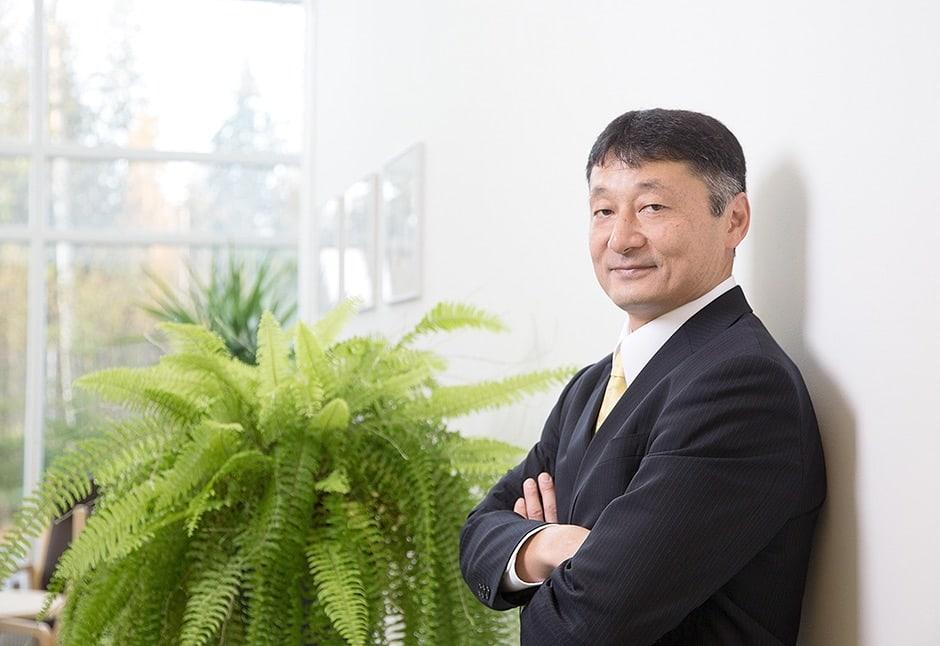 Cimcorpin toimitusjohtaja Masatoshi Wakabayashi.